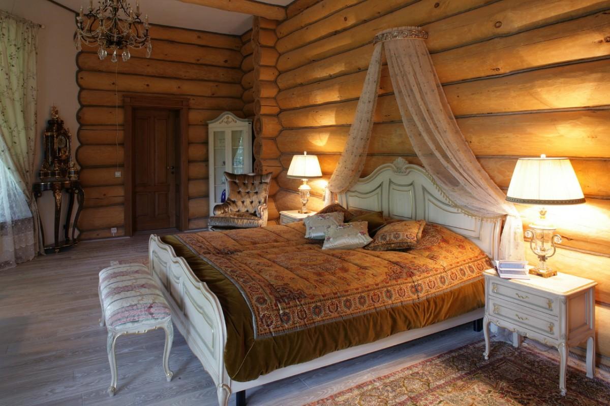 Интерьеры деревянных домов из бревна внутри фото 69