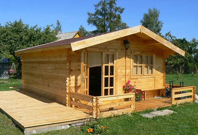 Садовый дом из бруса