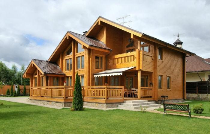 Одноэтажные дома из бруса: проекты с фото, цены и