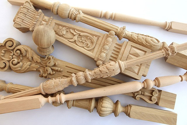 деревянные балясины купить,фото деревянные балясины
