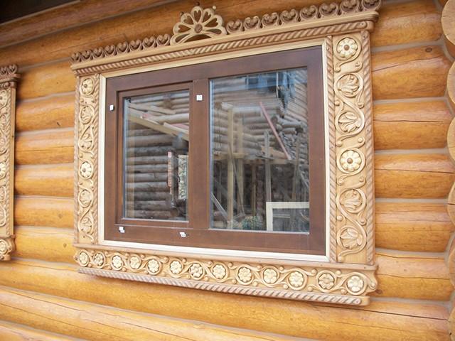наличники на окна для деревянного дома