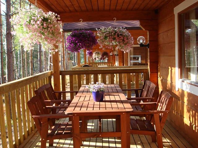 терраса для загородного дома