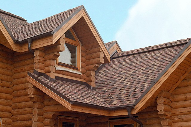 мягкая кровля для крыши деревянного дома