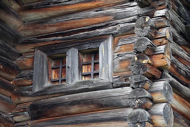 волоковое окно в избе