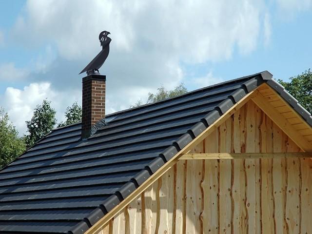 обустройство дымника в деревянном доме