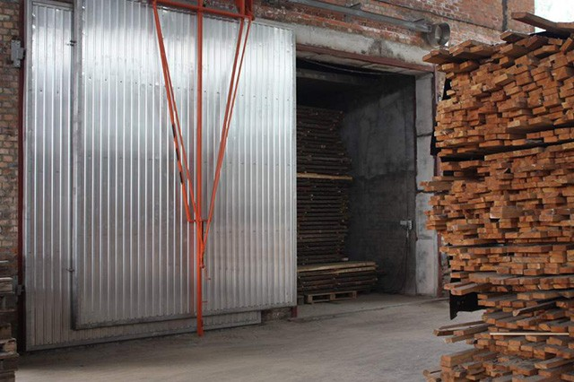 подготовка древесины к сушке в конденсационной камере