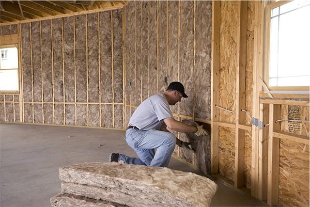 утепление деревянного дома внутри