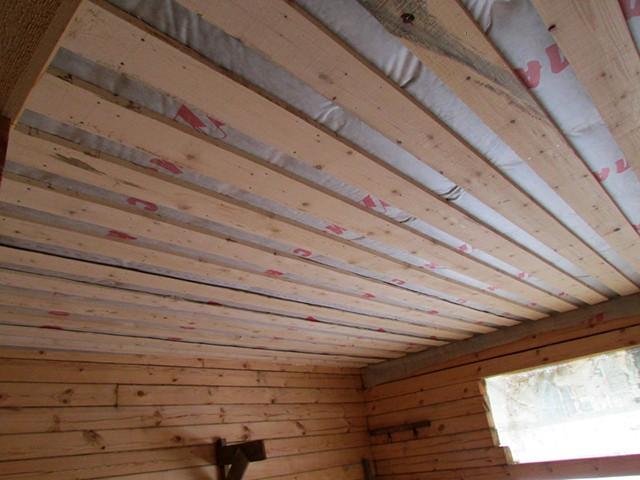 изоспан для потолка