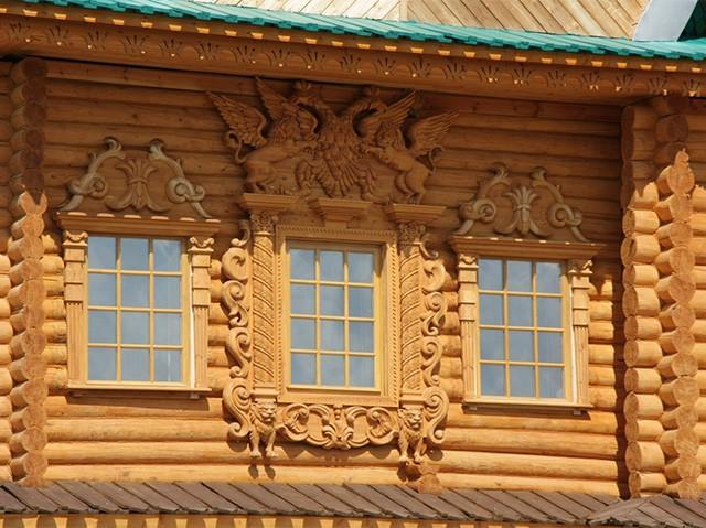 сандрики в архитектуре дома
