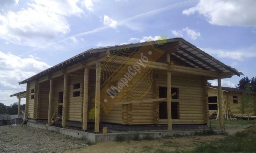 Дом в д. Лапоровичи