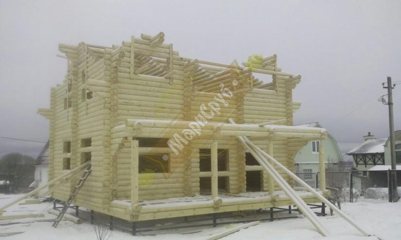 Дом в д. Капорское
