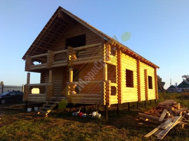 Дом в селе Кунтечи
