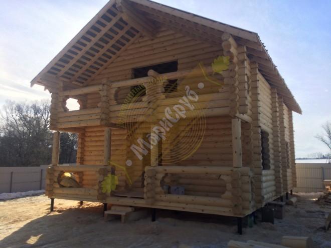 Дом в деревне Лобаново