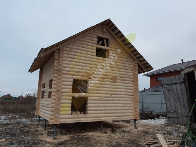 Баня из ОЦБ 220 Татарстан,г.Буинск