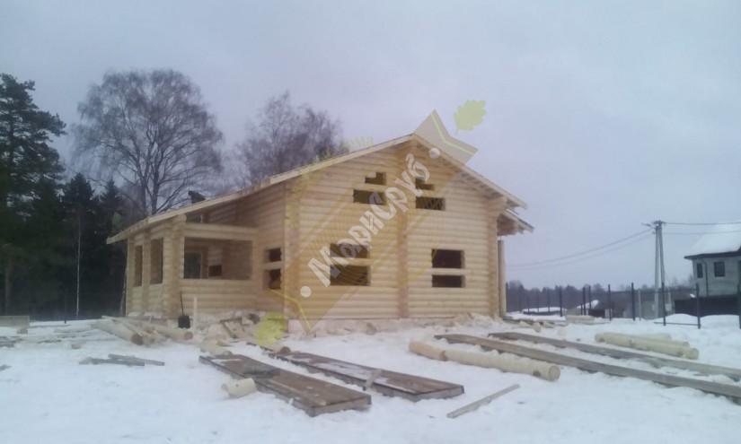 Дом из ОЦБ 260 МО,Солнечногорский р-н,д.Новая
