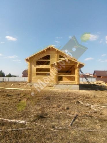 Дом из ОЦБ 240 МО,Чеховский р-н,д.Перхурово