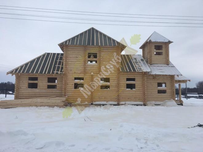 Церковь из ОЦБ Марий Эл п.Ургаш