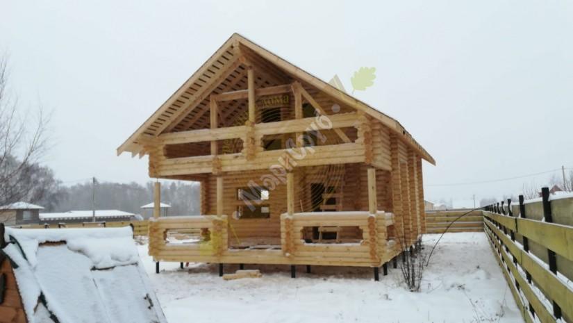 Дом из ОЦБ 220 Тульская обл.д.Скрипово