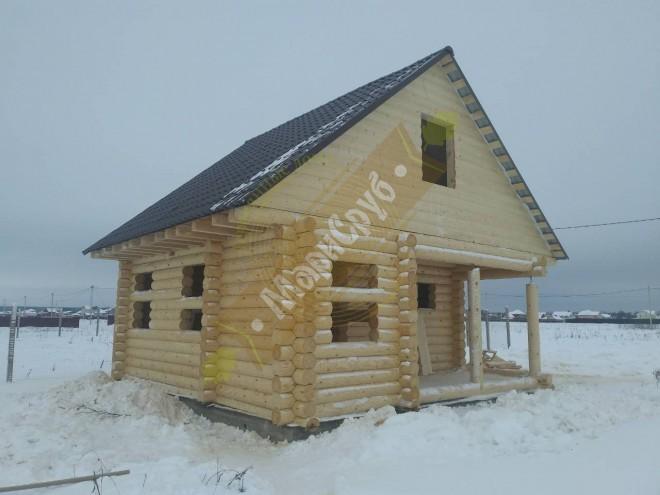 Дом из ОЦБ 220.МО,Воскресенский  р-н,Г/П.Белоозенрский